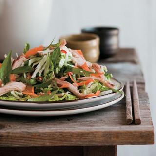 Vietnamese Napa Cabbage Chicken Salad